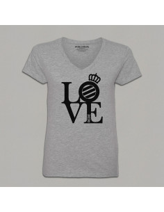 LOVE V-NECK WOMAN T-SHIRT