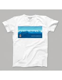 MAN T-SHIRT  SKYLINE