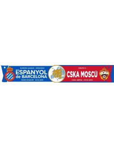 BUFANDA  AD EUROPA RCDE vs. CSKA MOSCÚ