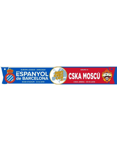 RCDE vs. CSKA MOSCÚ SCARF