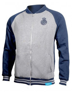 GRIS & NAVY JACKET WITH ZIPPER