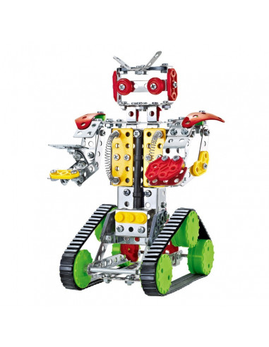 SET METAL CONSTRUCTIONS  317 PIECES - ROBOT + 8A