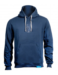 SWEATSHIRT NAVY WITH HOODIE