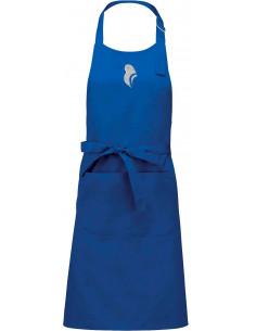 蓝色鹦鹉围裙