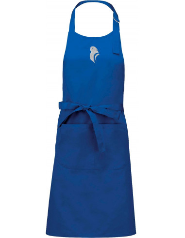 BLUE KITCHEN APRON (PARAKEET)