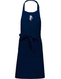 NAVY KITCHEN APRON