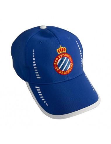 CREST CAP (STRIPES BLUE)