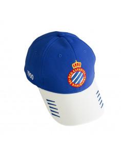 白色条纹队徽帽子