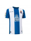 "RCD ESPANYOL HOME SHIRT 2018-19 WITH ""21 MARC ROCA"" PRINTING"