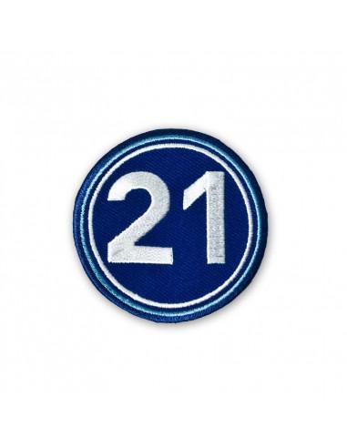 西班牙人21刺绣徽章