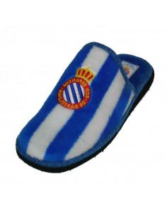 带队徽的条纹运动鞋