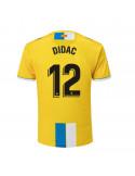 """2018-19赛季西班牙人第二客场球衣 """"12 DIDAC"""""""