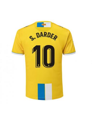 """2018-19赛季西班牙人第二客场球衣 """"10 S. DARDER"""""""