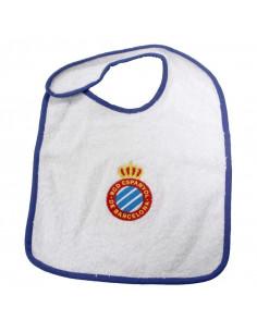 西班牙人队徽图案婴儿围兜