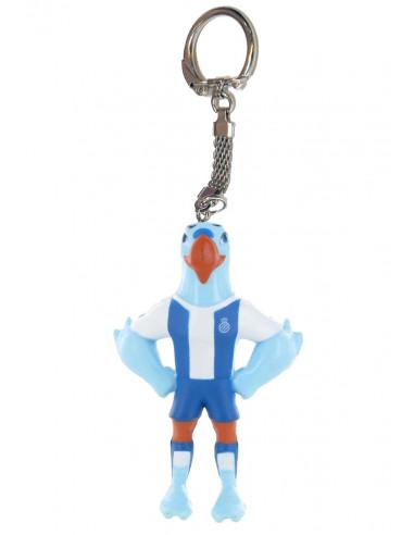 西班牙人吉祥物鹦鹉钥匙扣