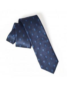 西班牙人鹦鹉图案领带