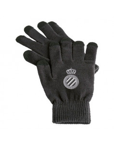 TOUCHSCREEN GLOVES (GREY2 ADULT CREST)