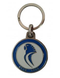 圆形西班牙人吉祥物钥匙圈