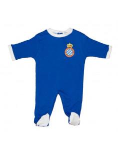 蓝色婴儿连体套装