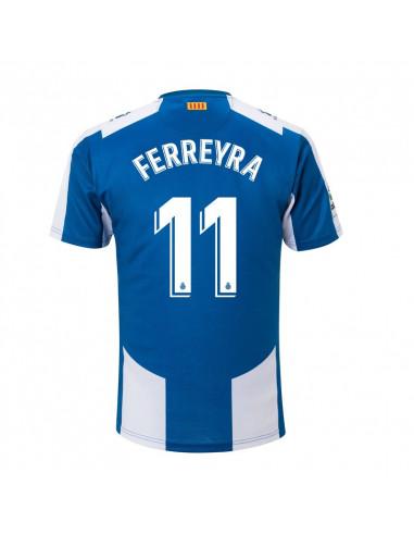 """2018-19赛季西班牙人主场球衣 """"11 FERREYRA"""""""