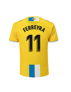 "RCD ESPANYOL THIRD SHIRT 2018-19 WITH ""11 FERREYRA"" PRINTING"