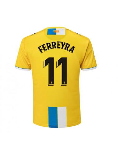 "RCD ESPANYOL THIRD SHIRT 2018-19 WITH ""11 FERREYRA"" PRINTING"