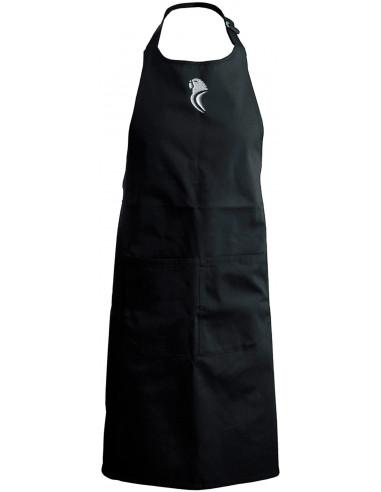 黑色厨房围裙
